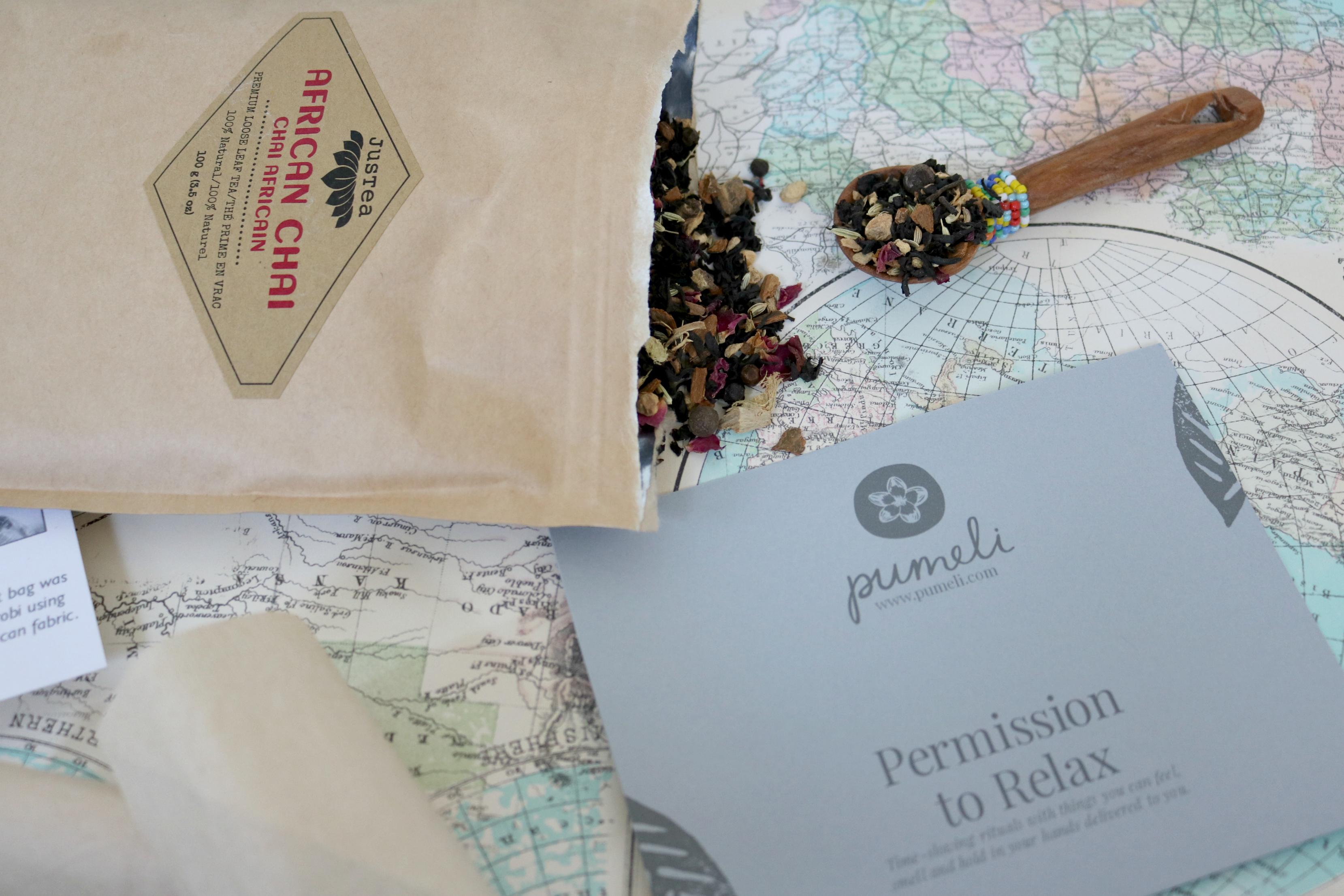 Pumeli Tea Gift Set Mindfullness Mindful Jodetopia