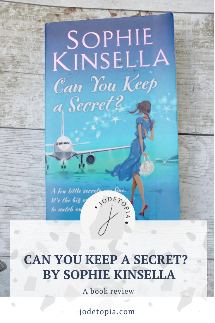 Can You Keep A Secret by Sophie Kinsella Pinterest Graphic