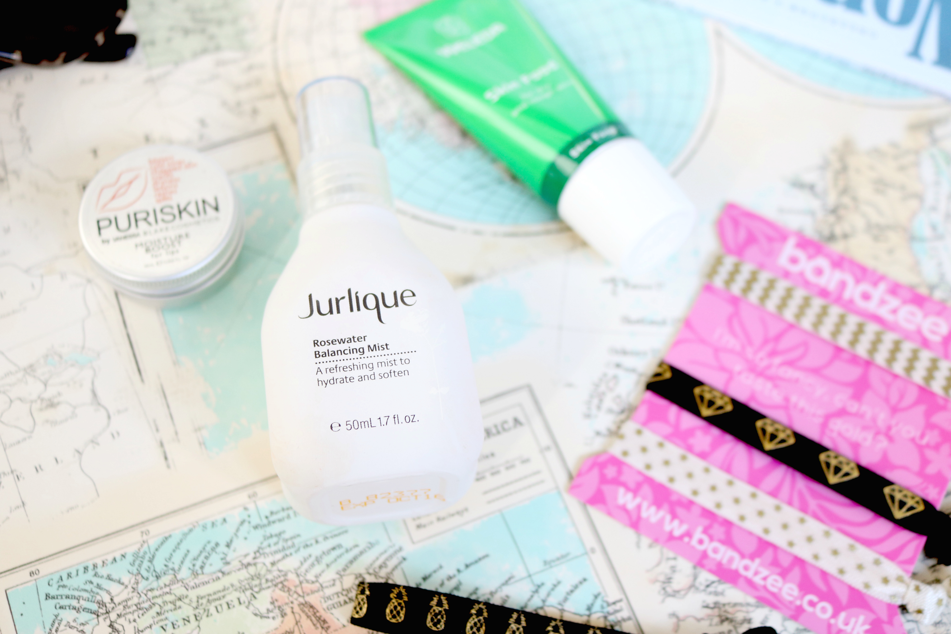 Jodetopia Commuter Essentials Bandzee Weleda Jurlique Puriskin