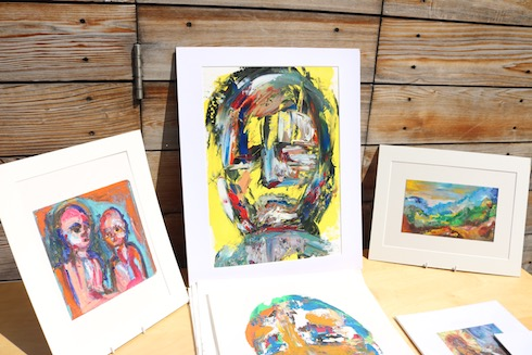Art on display at the Dulwich Art Festival