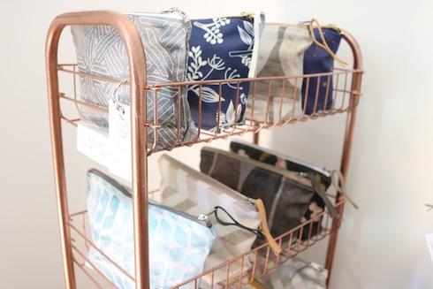 Wash bags by Nancy Straughan