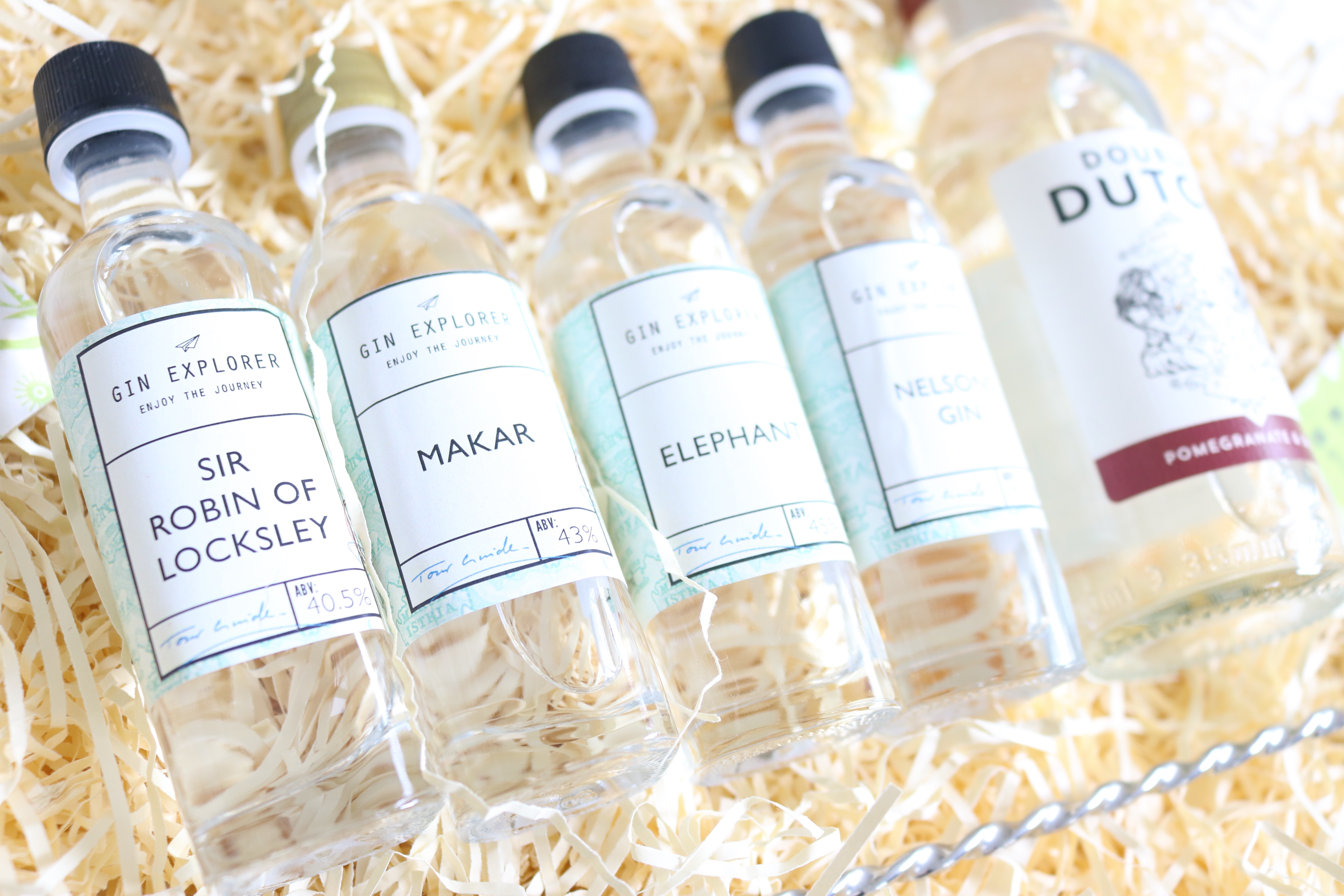 Gin Explorer Subscription Box, Jodetopia