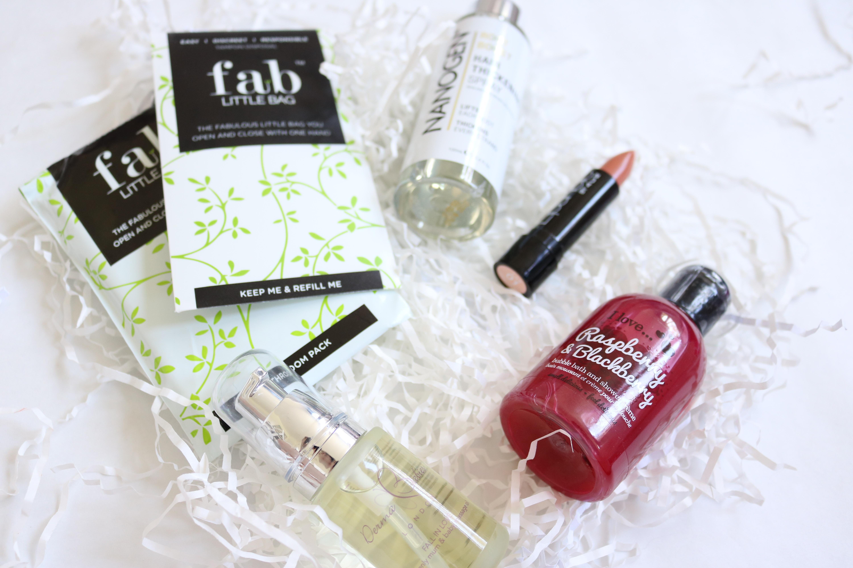Jodetopia, Blogger Beauty Box June, Fab Little Bag, Nanogen, I Love..., Derma Babies, Lipaholic, 4U2