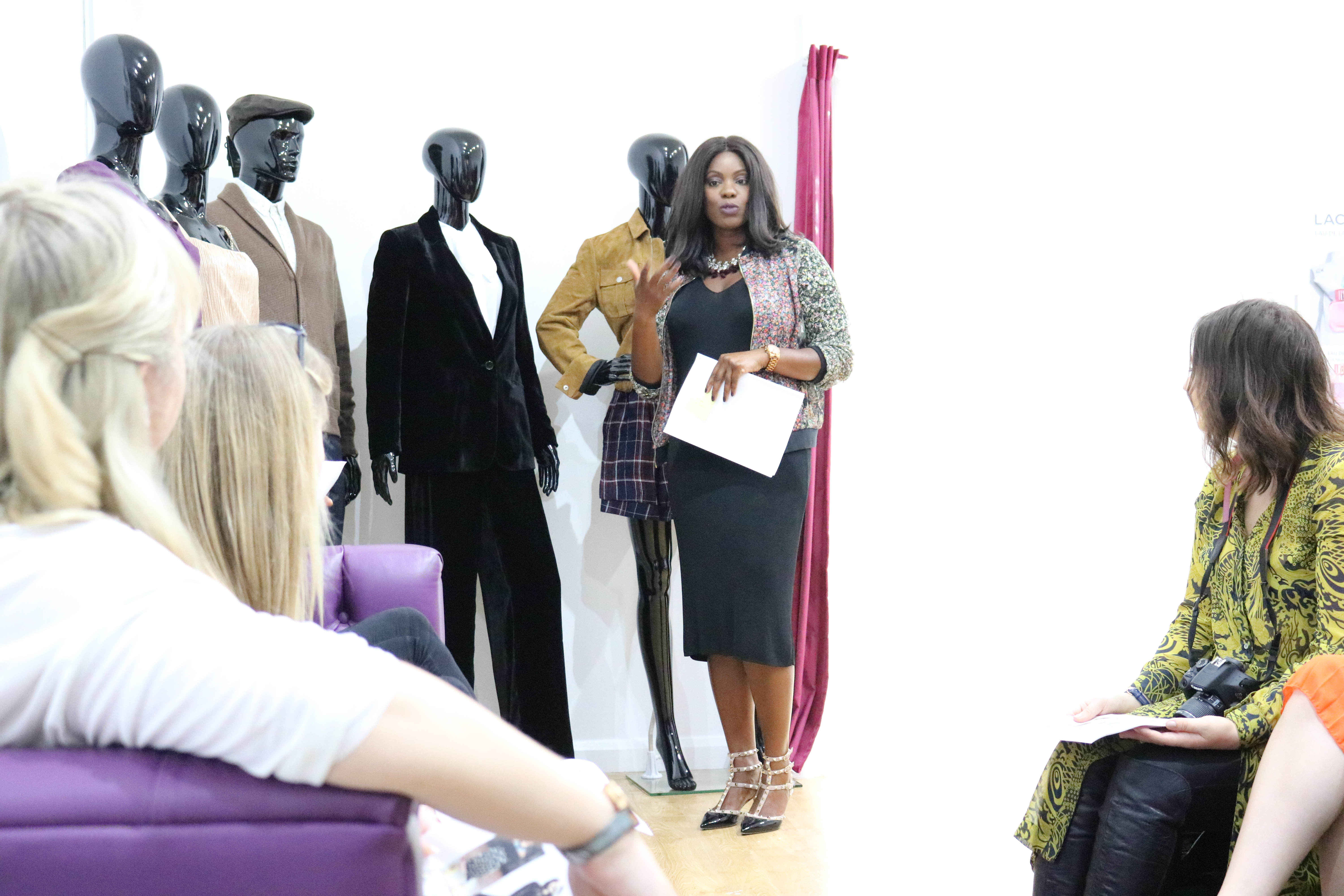 intu Lakeside, #intuVIB, blogger event, A/W Fashion 2016, Jodetopia, Carlene Noel, Personal Stylist Lounge, Lakeside, Essex Bloggers