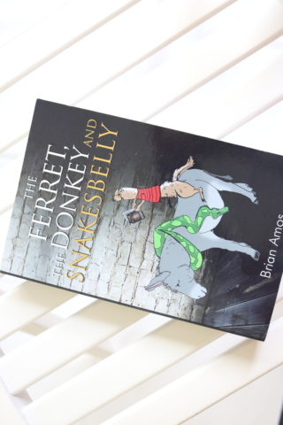 The Ferret, The Donkey and Snakesbelly, Brian Amos, Book Review, Jodetopia, Whispering Stories
