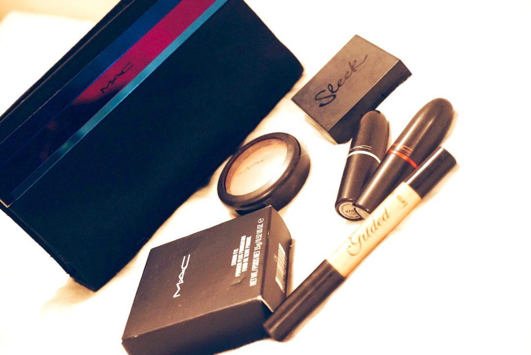 minimalist makeup bag, MAC makeup, Jodetopia, LDN Rose, Guest Post