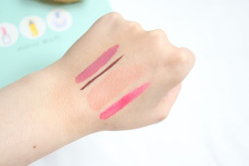 YesStyle Korean Beauty Sample Makeup Swatches