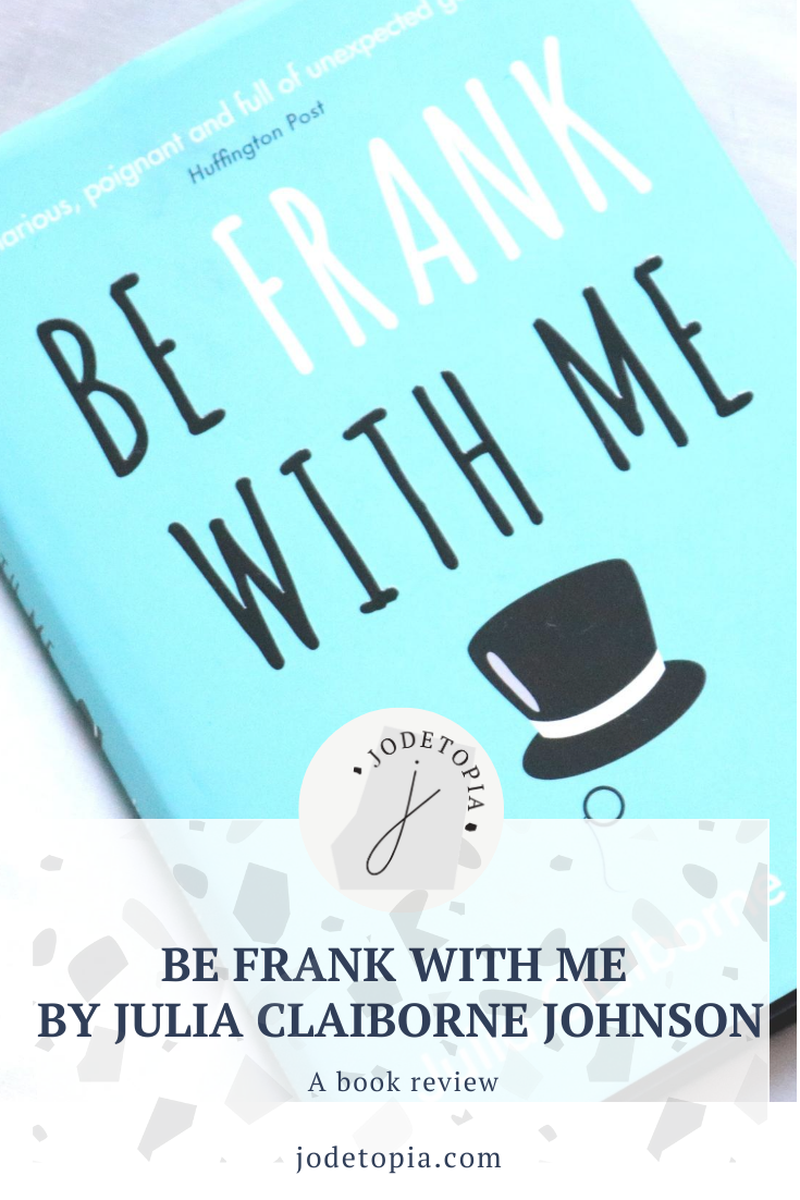 Be Frank With Me Pinterest Graphic