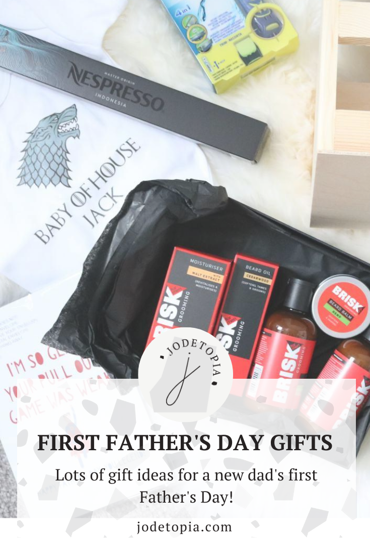 First father's day gift ideas pinterest graphic