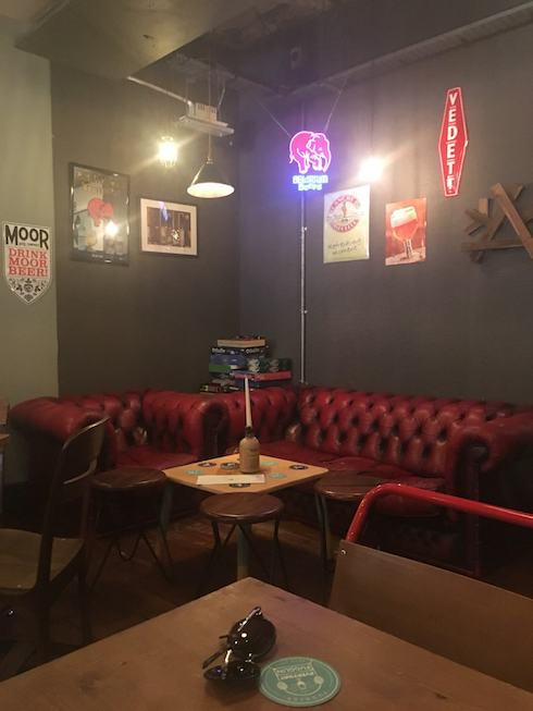 Fuggles Beer Cafe in Tunbridge Wells, Photo of a cosy corner with sofas