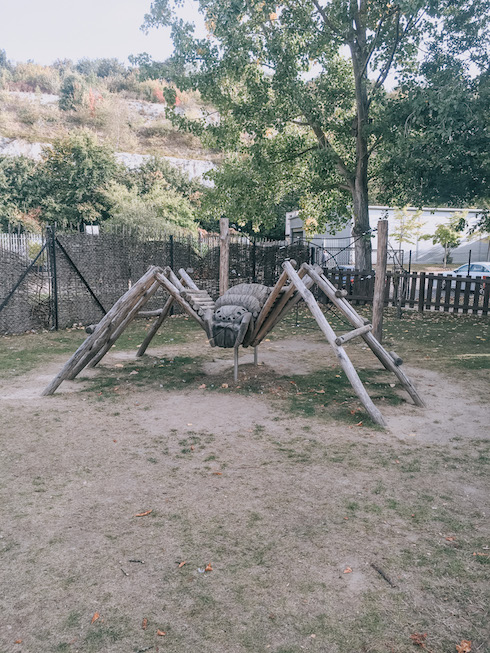 The Bluewater Nature Trail Spider Climbing Frame Play Area