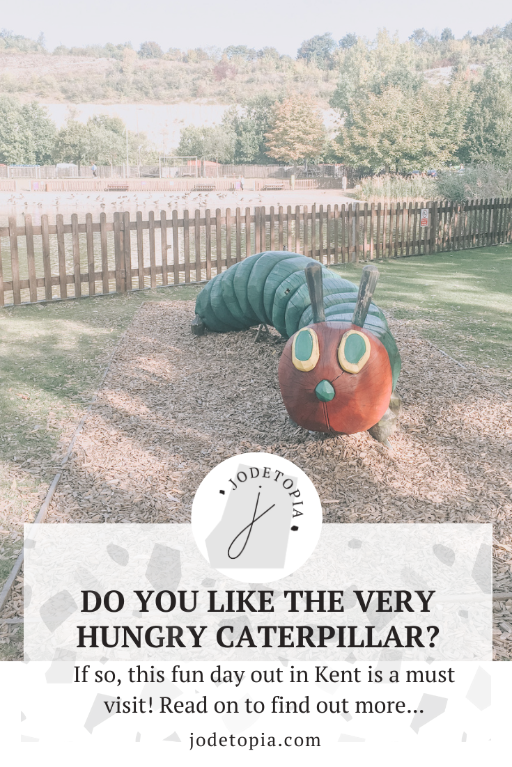 The Very Hungry Caterpillar Pinterest Graphic