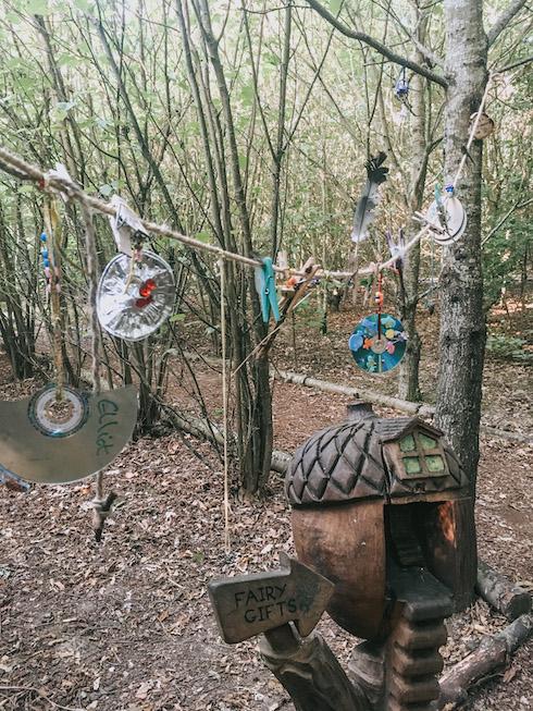 Secret fairy and elf village fairy gift line