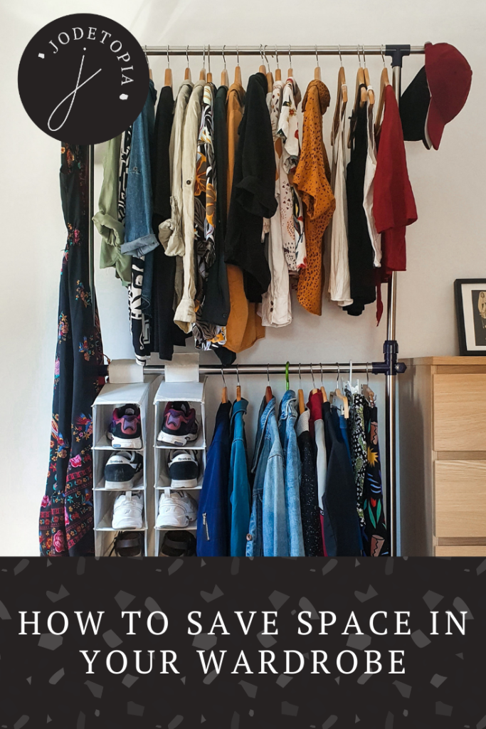 how to save space in your wardrobe