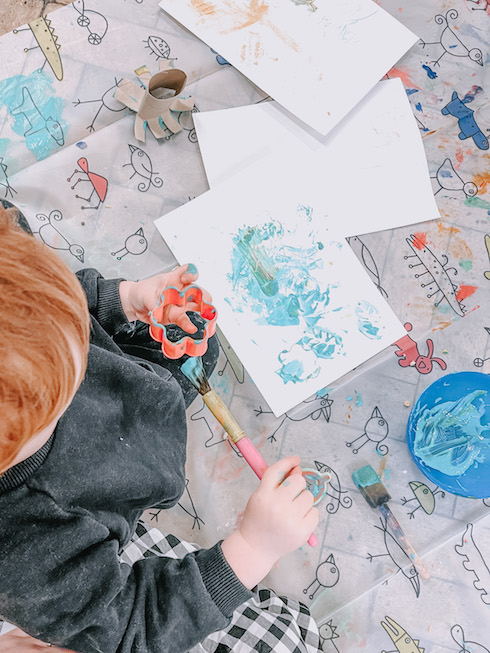 Bub Club Baby and Toddler Group in Rochester Painting